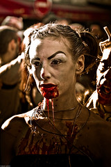 IMG_3450 (Meian') Tags: paris walking dead death blood zombie walk mort makeup gore rotten sang maquillage pourri meian 2011 putrefi putrify