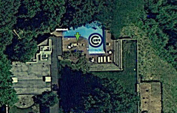 Bill Murray's Pool [photo - The Smoking Gun]