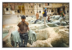 Down in Hell (**luisa**) Tags: africa work morocco fes tanneries luisapuccini nikond7000