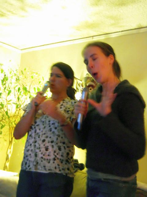 Julie & Melissa Kareoke Duet