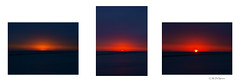 South Shore Sunrise Triptych (sperophotography) Tags: sky sun lake water sunrise triptych bayview abstracts tych southshorepark