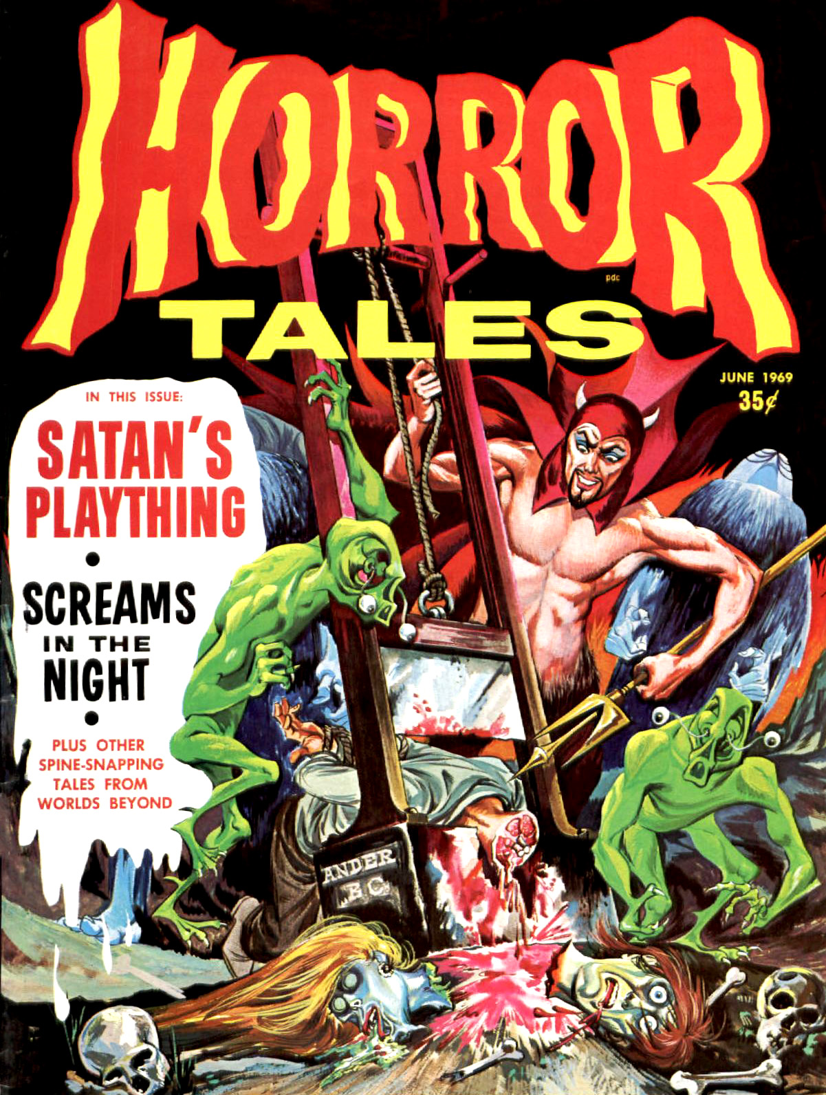Horror Tales - Vol. 1 #7 (Eerie Publications, 1969)