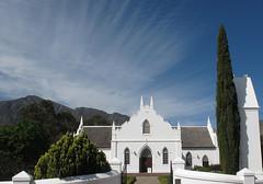Franschoek (Sallyrango) Tags: africa church southafrica day capetown cape franschoek pwpartlycloudy