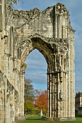 St Mary's Abbey, York by Tim Green aka atoach