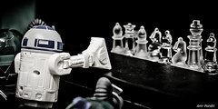 You're Fired ! (Anir Pandit's Photo Art) Tags: canon starwars r2d2 chessmen 500d theapprentice anirpandit