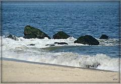 All Ashore.. (VCH ♥) Tags: ocean sea beach water coast newjersey sand rocks waves jetty nj shore monmouth atlanticocean picnik longbranch firstweekofoctober