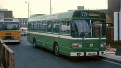 SNB 348 Heathrow March 1978 (national_bus_510) Tags: march heathrow 1978 snb 348