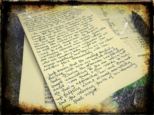 day305: notes for nanowrimo by walelia