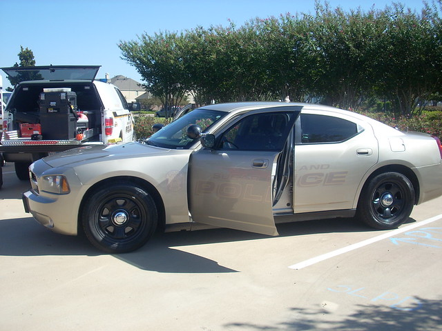 Sugar Land Police Charger