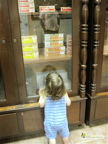 Baby at a Cuban Cigar Shop - Cuba