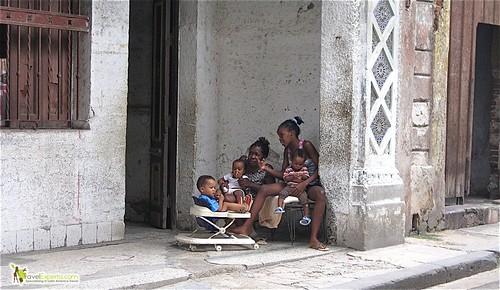 Cuban Family - Havana Vieja - Cuba