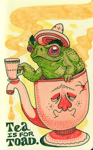 Tea is for Toad by jeremy pettis