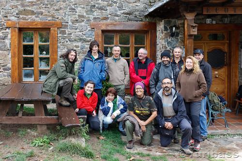 Foto familia Fototrampeo Ecotur Octubre 2011