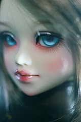 blue eyed (Cyristine) Tags: blue girl ball asian eyes doll bjd msd jointed unoa sist 3rdstrike