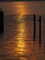 sunset (Hans-Jrgen Bckmann) Tags: sunset wasser sonnenuntergang ostsee 2011 niendorfostsee