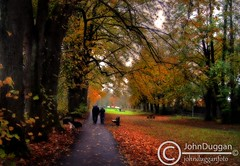 A Walk in the park 48571111. (johndugganfoto) Tags: kilkenny ireland autumncolours soe dogwalking canalwalk ortoneffect autumnscenes johndugganfoto ei8frb