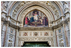 Duomo die Firenze (picture 4B) Tags: city italien italy architecture town florence details tuscany architektur firenze toscana florenz toskana a580 duomodiefirenze