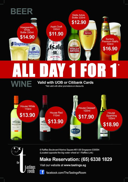 1 For 1 Beer & Wines