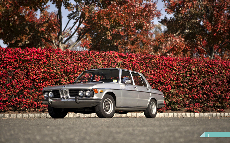 1972 BMW Bavaria, fall colors