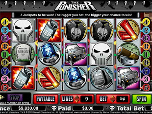The Punisher slot game online review