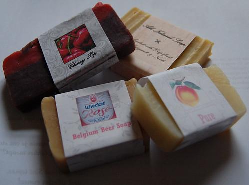 soap bags / zeepzakjes