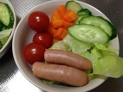 朝食サラダ(2011/11/9)