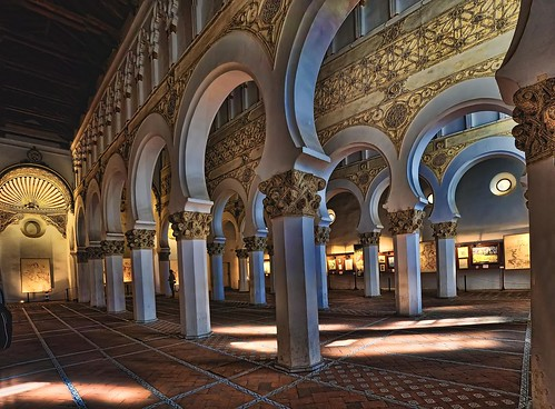Sinagoga de Santa María La Blanca Toledo - a photo on Flickriver