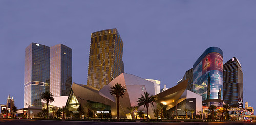 City Center - Las Vegas Panoramic by w4nd3rl0st (InspiredinDesMoines), on Flickr