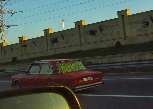 Another Lada Loaded with Apples