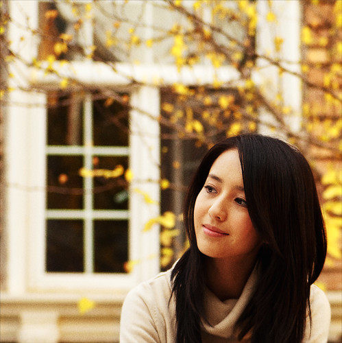 無料写真素材, 人物, 女性  アジア, 紅葉・黄葉, 中国人, 人物  樹木