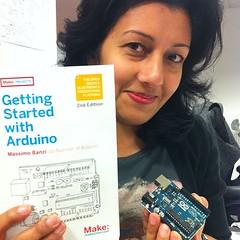 Ooh, @rifa's arduino has arrived!