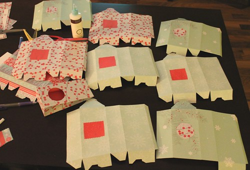 Handmade holiday gift bags - 3