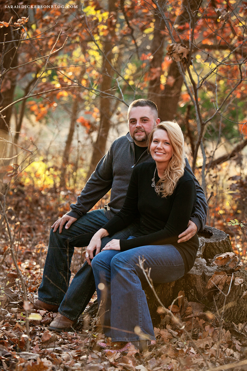 Shawnee Mission Park Kansas engagement photos