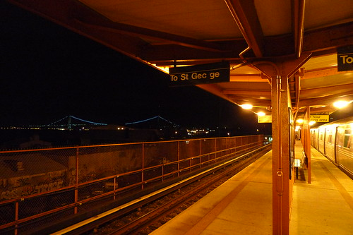 the verrazano from stapleton