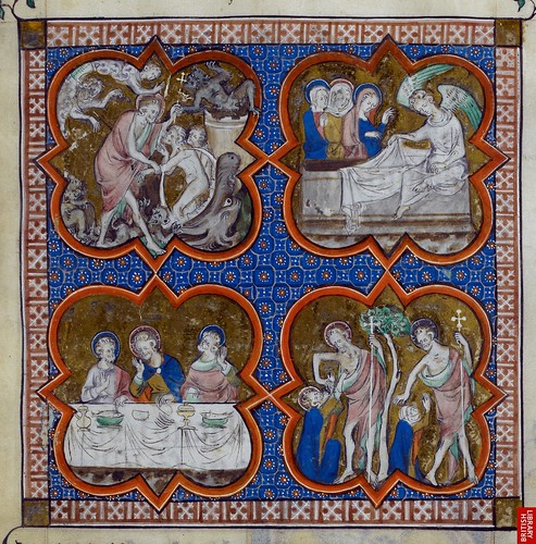 London BL - Royal 2 B VII  fol-281  Passion of Christ, detail by petrus.agricola