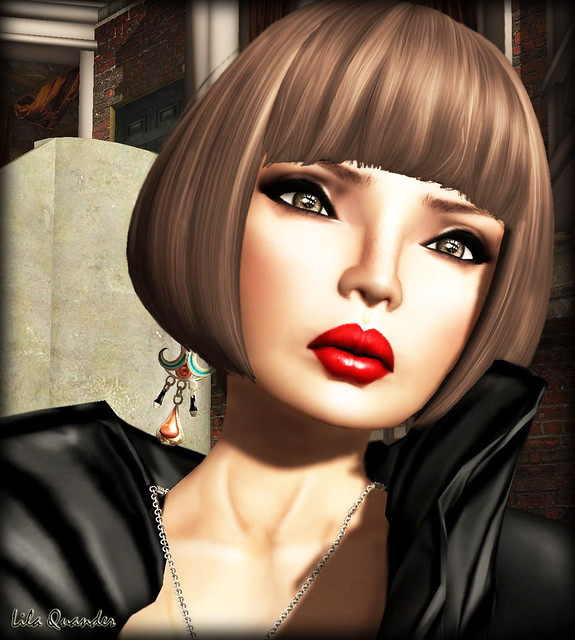 Glam Affair JadisV2 MedTan - D 06 & Indyra Originals Farouk Earrings Ember-Teal sm