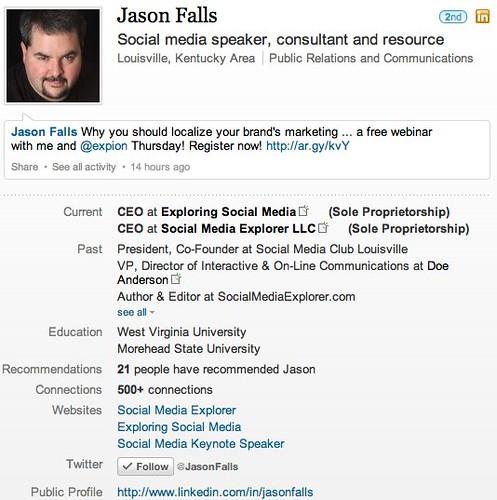 Jason Falls | LinkedIn