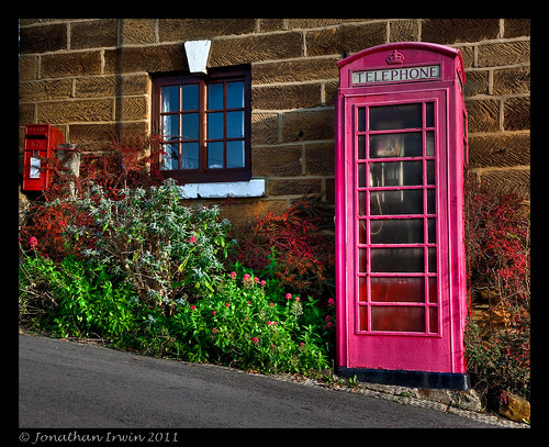 Pink Phone Box-809 by Jonathan Irwin Photography
