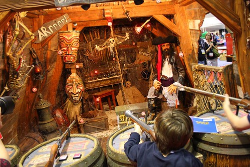 Daniels Wood Land pirates shooting gallery