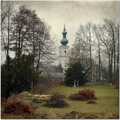 Reality by reality (pixel_unikat) Tags: park wood november church austria cut textured waldviertel loweraustria lateautumn thankstolenabemfortexture
