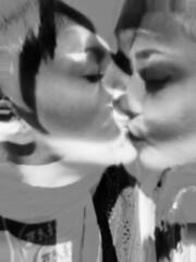 What is MaGi? (Giulia_Aura) Tags: world travel portrait blackandwhite berlin love kiss heart you song mary universe modification aura biancoenero sentimental magi sperimental