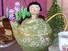 Time of kindness... (* Cláudia Helena * brincadeira de papel *) Tags: brazil brasil tea teapot papel japonesa bule papermache chá papiermachè cartapesta papelmachê cláudiahelena