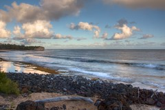 Shipwreck Beach Evening