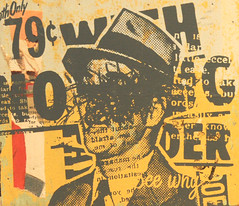 (roncopeland81) Tags: streetart art sign print advertising graffiti design graphicdesign screenprint modernart graf text letters advertisement silkscreen signage font foundobject signart roncopeland