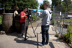 LegUp Community Garden (Fablevision Studios) Tags: volunteers filming communitygarden govan legup govantogether