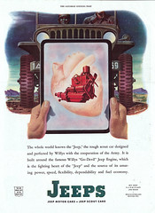 "John Howard 1944 Saturday Evening Post ""The Fighting Heart of the Jeep"" (ThisOldJeepDotCom) Tags: america jeep cj kaiser mb willys overland cj2a cj5 cj3a"