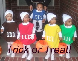 M&M trick or treat
