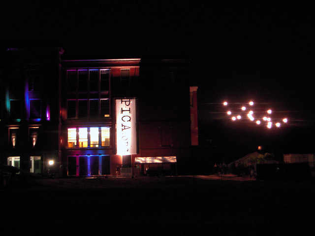 PICA Building at Night