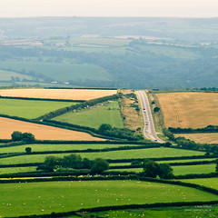 A View from Kit HIll (cybertect) Tags: road landscape cornwall callington kithill panasonicg2 canonfd200mmf40