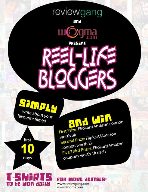 Reel-life Bloggers Contest